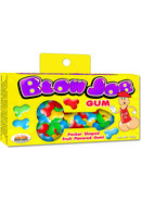 Blow Job Pecker Shaped Gum Assorted Fruit Flavored
