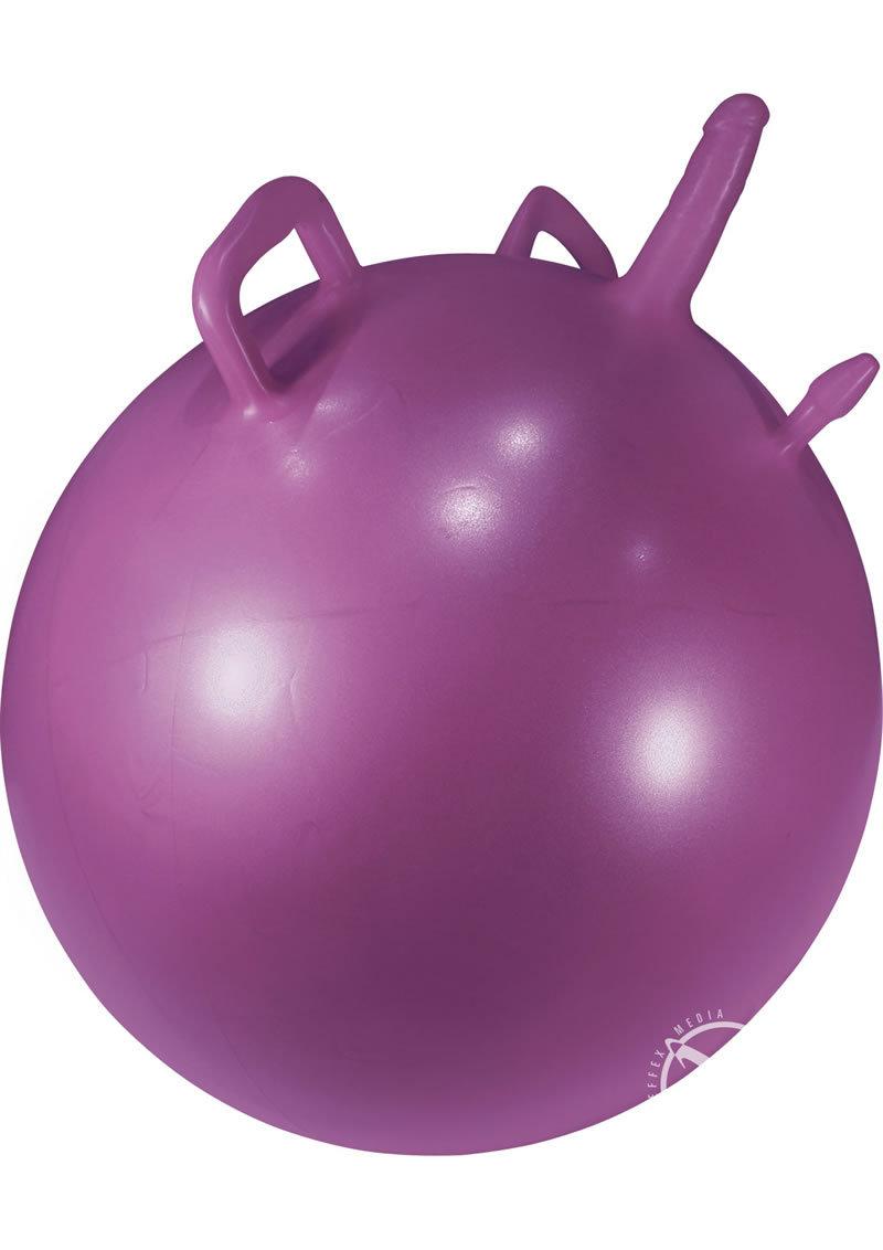 fitness dildo ball