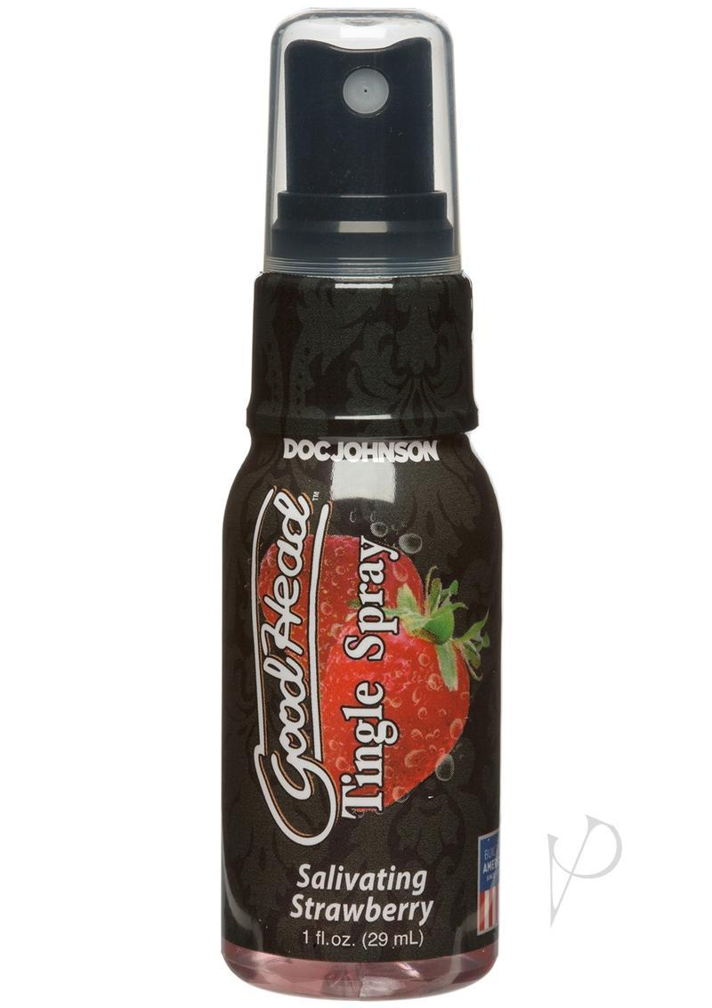 Goodhead Tingle Spray Salivating Strawberry 1 Ounce